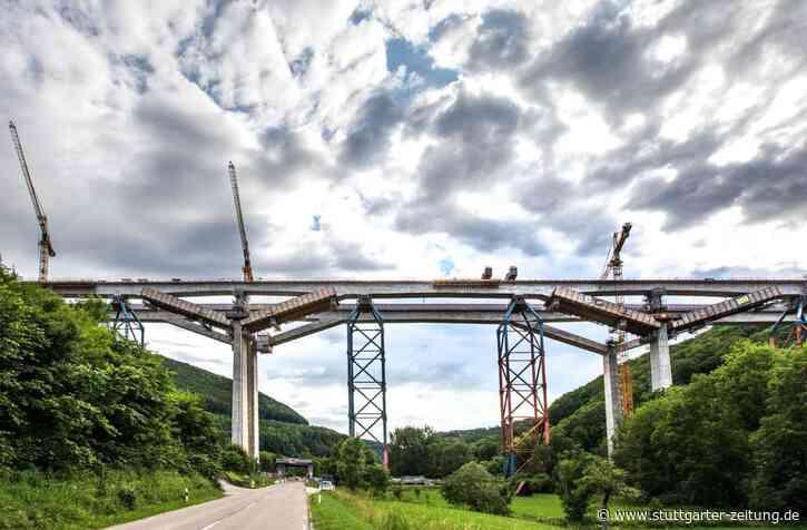 Bahnstrecke Wendlingen-Ulm - Die Filstalbrücke ist fertig - Stuttgarter Zeitung