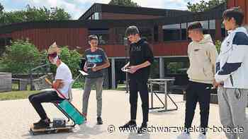 Wildberg - Wildberger Schüler verbessern ihr Englisch - Schwarzwälder Bote
