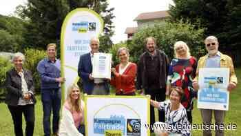 Ausgezeichnete Fairtrade-Kommune - Süddeutsche Zeitung