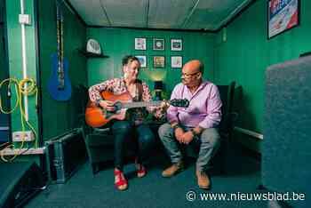 Fabienne en Bart bouwen studio en concertzaaltje in kelder
