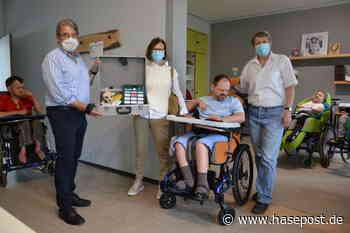 St. Maria-Elisabeth-Haus in Bad Laer: Neuanschaffung von Hilfsmitteln für aktive Teilhabe für Menschen mit Behinderungen durch Spende ermöglicht - HASEPOST