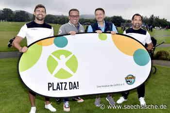 Radeberg: Fußballer und Golfer sammeln Spenden für Bolzplatz - Sächsische.de
