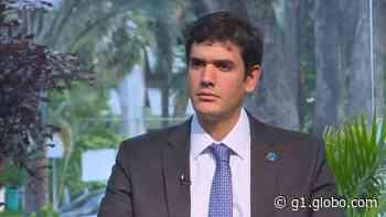 Com férias de Ibaneis, presidente da Câmara Legislativa, Rafael Prudente, assume governo do DF - G1