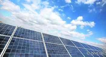 Rastatt will Photovoltaik auf städtischen Gebäuden - BNN - Badische Neueste Nachrichten
