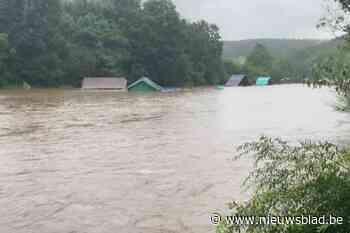 """OVERZICHT. Al 25 jeugdkampen afgebroken: """"Het water stroomde door de tenten"""""""