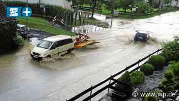 Hochwasser in Eslohe: Einsätze ziehen sich bis in die Nacht - WP News