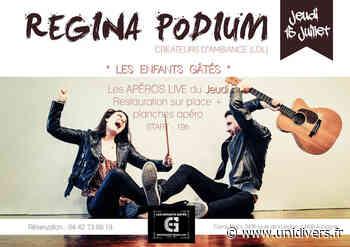 Regina Podium Les Enfants Gâtés jeudi 15 juillet 2021 - Unidivers
