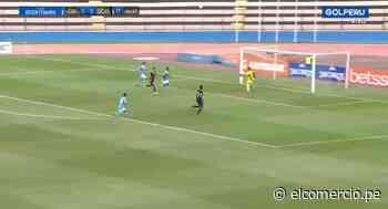 Sporting Cristal vs. Unión Comercio: un remate que chocó en el palo salvó a los celestes y se mantiene el 0-0| VIDEO - El Comercio Perú