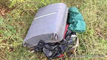 Black Staffy X found dead in suitcase in Kalgoorlie, RSPCA seeking information - The West Australian