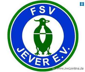 Fußball: Reigen von Freundschaftsspielen beim FSV Jever - Nordwest-Zeitung