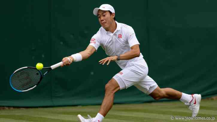 Kei Nishikori reaches second round at Wimbledon with 100th Grand Slam win - The Japan Times