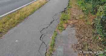 L390 in Kaarst: Gefährlicher Radweg früher saniert - Westdeutsche Zeitung