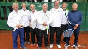 Tennis-Senioren: LTC Elmshorn qualifiziert sich für Deutsche Vereinsmeisterschaft | shz.de - shz.de