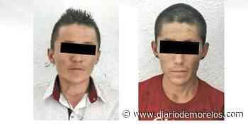 Capturan a dos por extorsión en Puente de Ixtla - Diario de Morelos