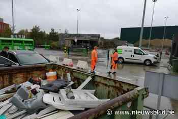Wegenwerken blokkeren recyclagepark (Rumst) - Het Nieuwsblad