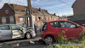 Pont-à-Vendin/Vendin-le-Vieil: collision entre deux voitures après un refus de priorité - La Voix du Nord