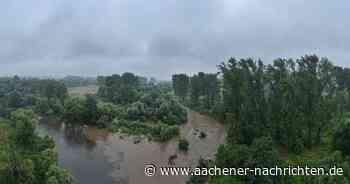 Hochwasserlage im Kreis Düren: Kall und Inde lassen die Rur immer weiter anschwellen - Aachener Nachrichten