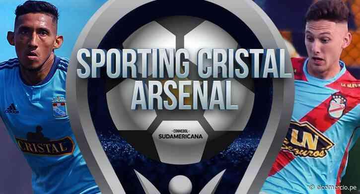 Sporting Cristal - Arsenal: sigue minuto a minuto, Copa Sudamericana en directo - El Comercio Perú