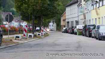 Ortsdurchfahrt Neuenbürg - Sanierung um drei Wochen verschoben - Schwarzwälder Bote