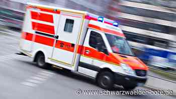 34-Jähriger leicht verletzt - Auto und Motorrad stoßen in Bad Wildbad zusammen - Schwarzwälder Bote