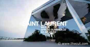 Watch the Saint Laurent Menswear Show - The Cut