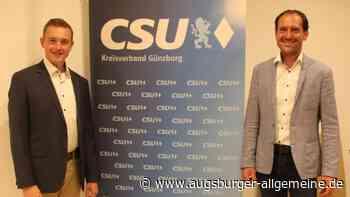 Christian Weng führt jetzt den CSU-Ortsverband Jettingen-Scheppach - Augsburger Allgemeine