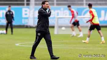 Bayer Leverkusen: Kapitäns-Frage vertagt: Seoane lässt Aránguiz zappeln - BILD