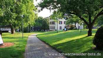 Hochzeitswiese in Lautlingen - Boxen fürs Glas Sekt - Schwarzwälder Bote