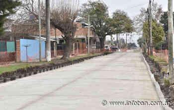 Malvinas Argentinas pavimenta las calles Patricias Mendocinas y Ricardo Rojas - InfoBan