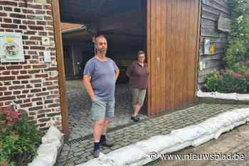 """Bewoners Pottekaasstraat zien wateroverlast toenemen """"Het st... (Zoutleeuw) - Het Nieuwsblad"""