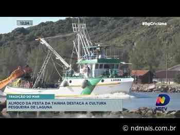 Almoço da Festa da Tainha destaca a cultura pesqueira de Laguna - ND Mais