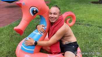 Schwimmunterricht: Ben Jaehn ist der neue Bademeister im Freibad Quickborn   shz.de - shz.de