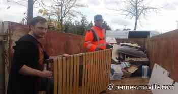 Saint-Jacques-de-la-Lande. Opération Tritout avec trois espaces pour les déchets - maville.com