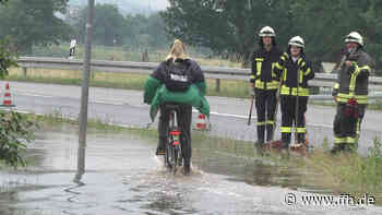 Radweg bei Bad Hersfeld überschwemmt - HIT RADIO FFH