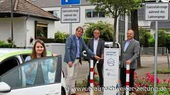 Cremlingen bietet zwei neue Ladesäulen für Elektro-Autos - Braunschweiger Zeitung