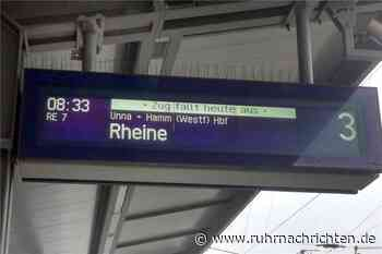 """""""Zug fällt heute aus"""": Ist der Nahverkehr in Schwerte noch zuverlässig? - Ruhr Nachrichten"""