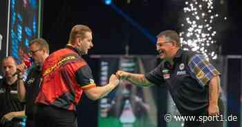 Darts World Matchplay mit Clemens, van Gerwen LIVE im TV, Stream, Ticker - SPORT1
