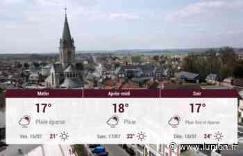 Chauny et ses environs : météo du jeudi 15 juillet - L'Union