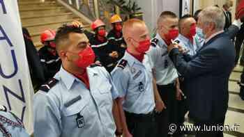 Chauny : médailles et galons pour les sapeurs-pompiers - L'Union