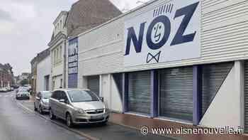 L'enseigne Noz de retour en centre-ville de Chauny, un an après son départ - L'Aisne Nouvelle