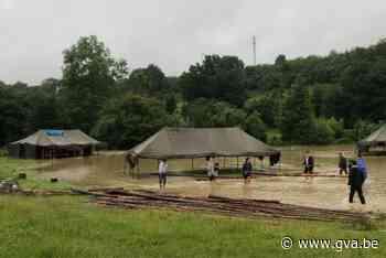 Scouts uit Wilrijk haalt ruim 3.000 euro op met crowdfunding na overstroming kampplaats - Gazet van Antwerpen