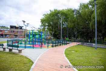Villapinzón estrena parque a orillas del río Bogotá - Extrategia Medios