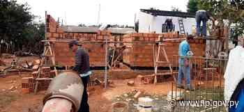 MUVH avanza en la construcción de viviendas para familias de Caaguazú | - ip.gov.py