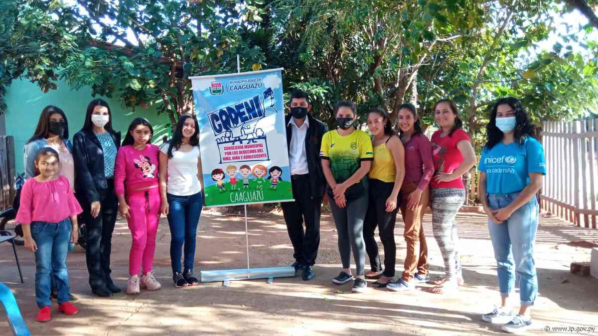 Adolescentes de Caaguazú participaron de taller del Minna sobre prevención de violencia | - ip.gov.py