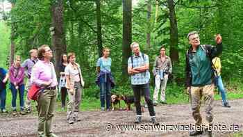 Forsthochschule Rottenburg - Annette Widmann-Mauz und Sabine Kurtz bei Waldbegehung - Schwarzwälder Bote