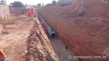 Quadra T-33 do Jardim Taquari começa a receber rede de drenagem pluvial - Conexão Tocantins