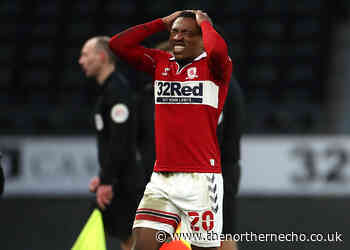 Boro full-back faces lengthy spell on sideline after accident