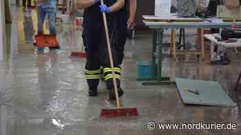 ▶ Brand, umgestürzte Bäume und Überflutungen nahe Neubrandenburg - Nordkurier