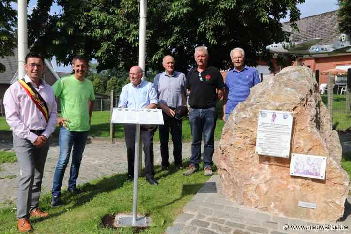 Gemeente huldigt extra infobord in aan monument oorlogsslachtoffers