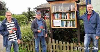 Bücherschrank in Quetzen: Futter für Lesehungrige - Mindener Tageblatt